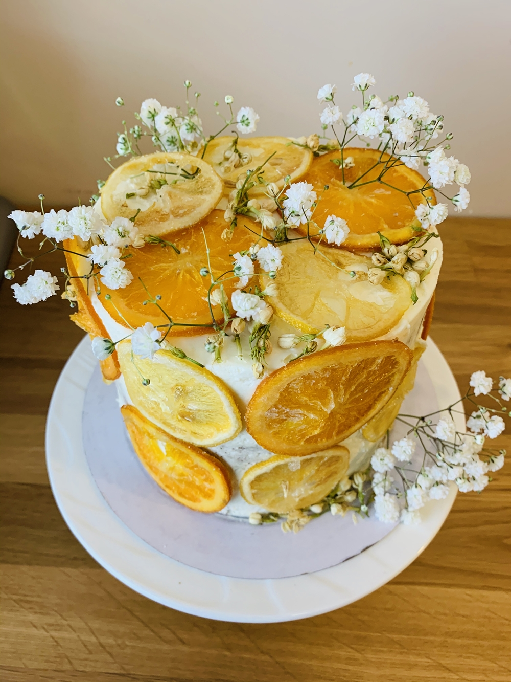 Custom Birthday Cake-Citrus